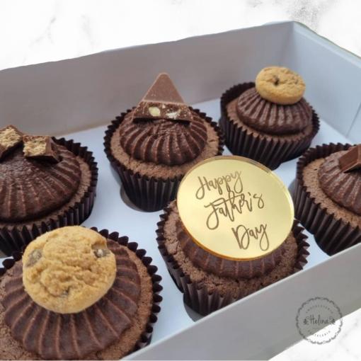 cupcakes para papá